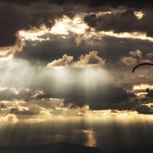 navegando por el cielo